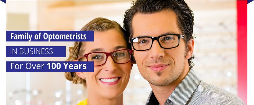 Family of Optometrists in business for over 100 years | man with glasses